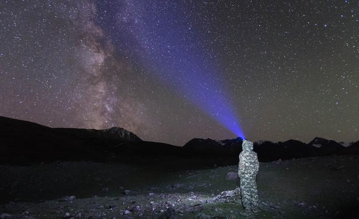 Звёздное небо. Алтай-этнотур.