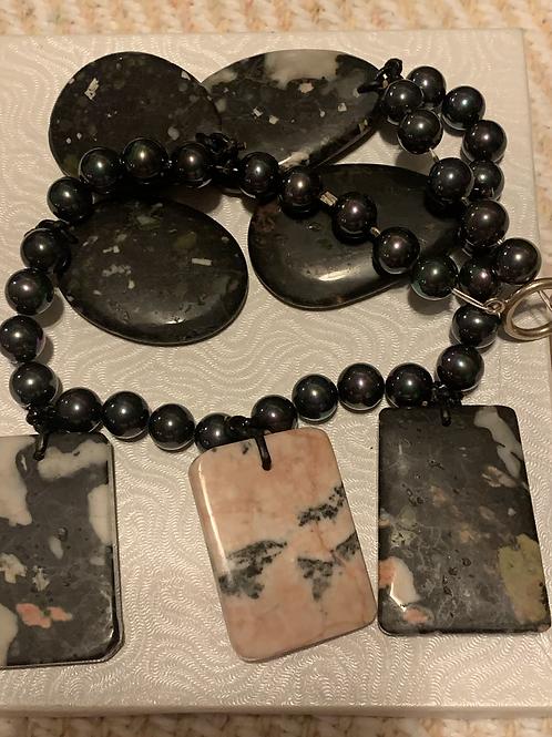 "Gemstone 18"" Necklace"