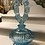 Thumbnail: FENTON Perfume Bottle Signed M. Nutter