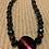 "Thumbnail: Glass stone Beautiful Bracelet 18"""