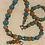 Thumbnail: Weighty Stone Necklace With Matching Earrings