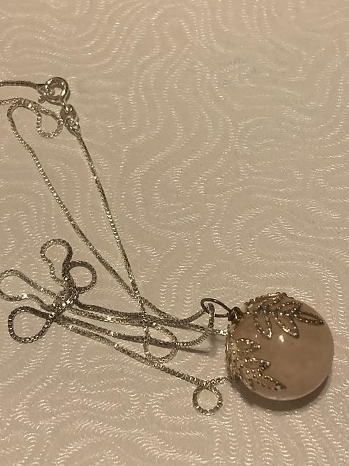 "Sterling .925 Gemstone 18"" Necklace"