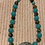 """Thumbnail: Turquoise 18"""" Necklace"""
