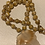 Thumbnail: Glass Leaf Necklace