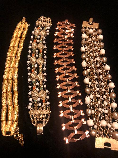 Estate Bracelet Lot