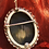 Thumbnail: Sterling Silver Cameo brooch