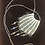 Thumbnail: Antique beaded necklace purse