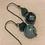 Thumbnail: Sterling Gemstone Earrings