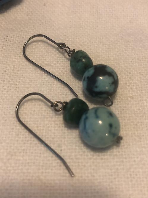 Sterling Gemstone Earrings