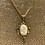 Thumbnail: 12K Gold Filled Cameo Necklace