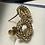 Thumbnail: 14K Gold Stud Earrings