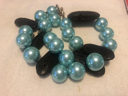 Beautiful Large Pearl Like Necklace