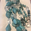 Thumbnail: Long Turquoise Necklace & Matching Earrings