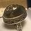 Thumbnail: Sterling Silver Druzy Quartz Stone Ring