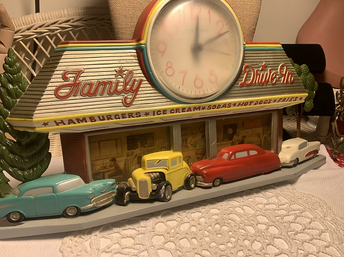 Vintage 1988 Coke Clock