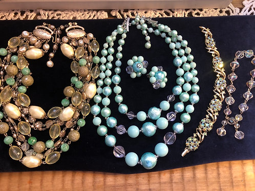 Vintage Jewelry Lot Japan Included