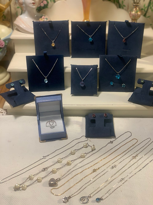 32 Pc. Sterling Silver Lot