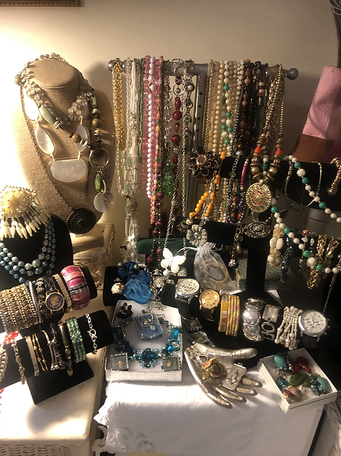 Large Wearable Jewelry Lot