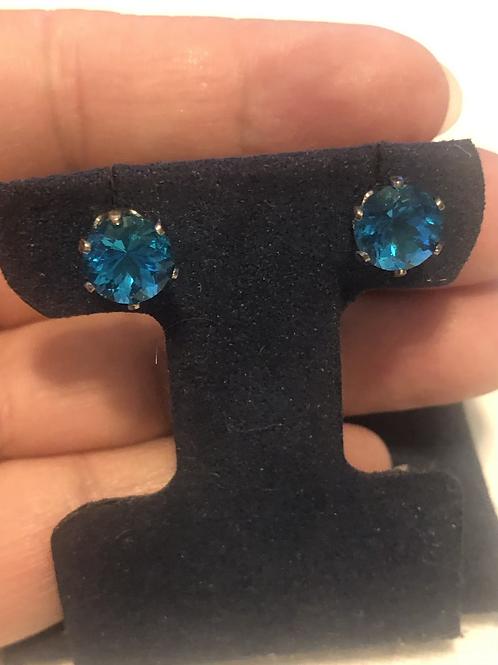 Beautiful Sterling Silver Stud Earrings