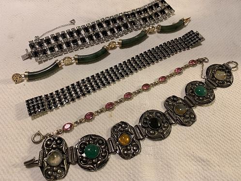 Vintage Bracelet Lot