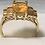 Thumbnail: 10K Gold Vintage Gemstone Ring