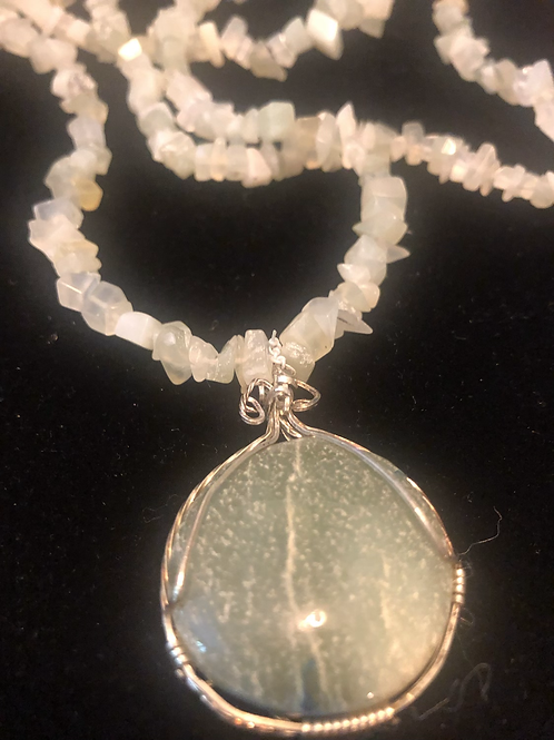 "Gemstone Necklace 32"""