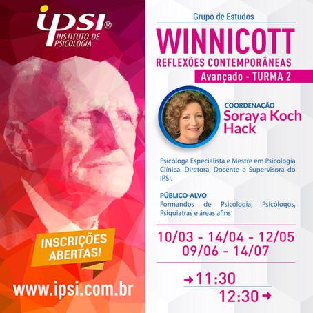 Grupo de Estudos    Winnicott Reflexões Contemporâneas - Avançado Turma 2