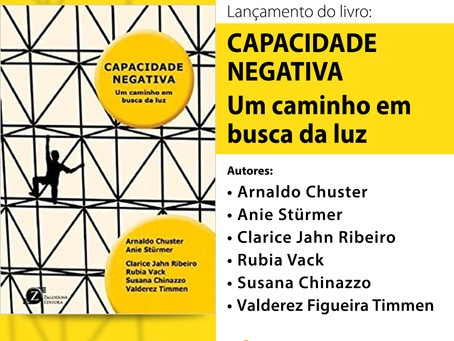 Lançamento de Livro | Capacidade Negativa