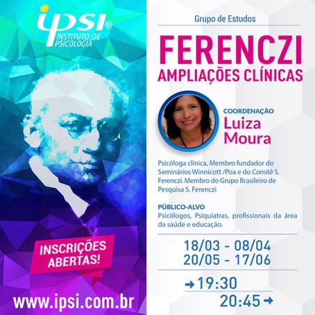 Grupo de Estudos   Ferenczi - Ampliações clínicas