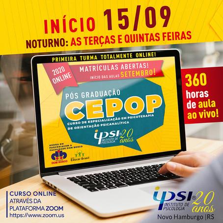 CEPOP ONLINE!