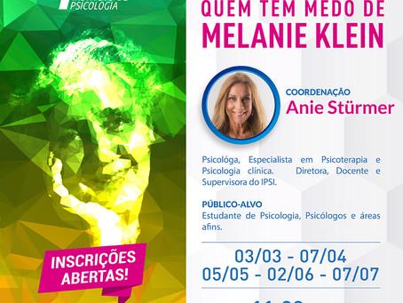 Grupo de Estudos |  Quem tem medo de Melanie Klein
