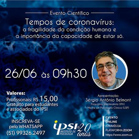 Evento Científico | TEMPOS DE CORONAVÍRUS