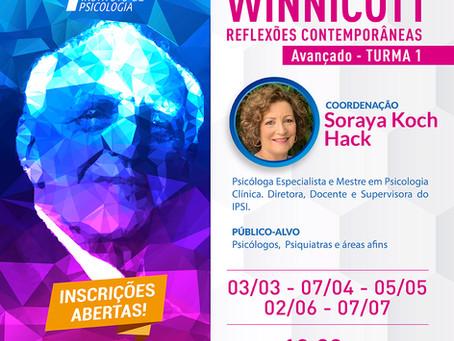 Grupo de Estudos |  Winnicott Reflexões Contemporâneas - Avançado Turma 1