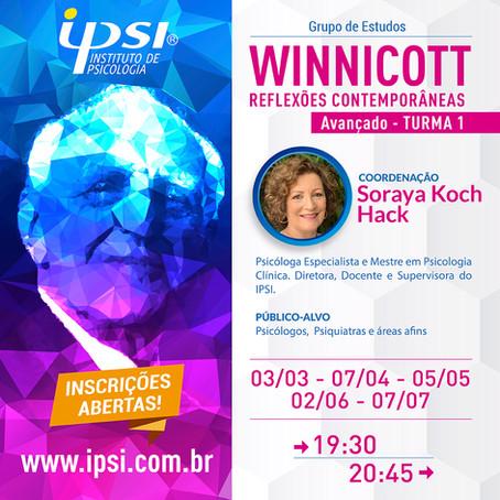 Grupo de Estudos    Winnicott Reflexões Contemporâneas - Avançado Turma 1