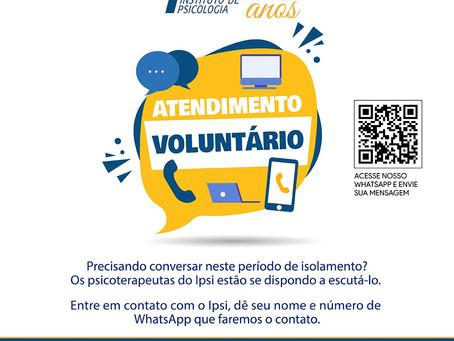 Atendimento Voluntário