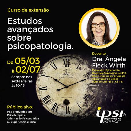 Curso de Extensão   Estudos avançados sobre psicopatologia