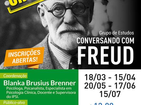 Grupo de Estudos | Conversando com Freud