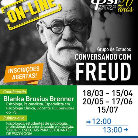 Grupo de Estudos   Conversando com Freud