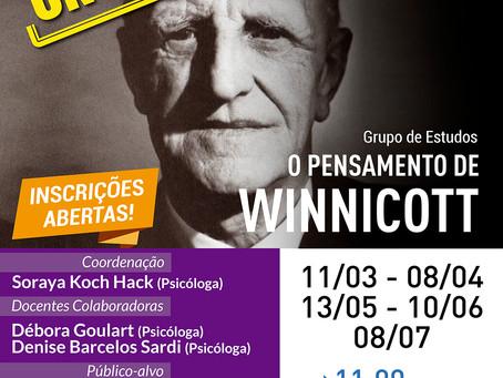 Grupo de Estudos | O pensamento de Winnicott