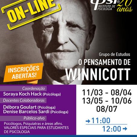 Grupo de Estudos   O pensamento de Winnicott