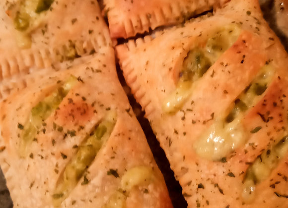 Savoury Puff Pastries - Different Flavours