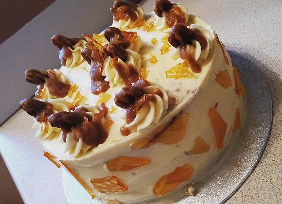 Salted Caramel & Praline Cake