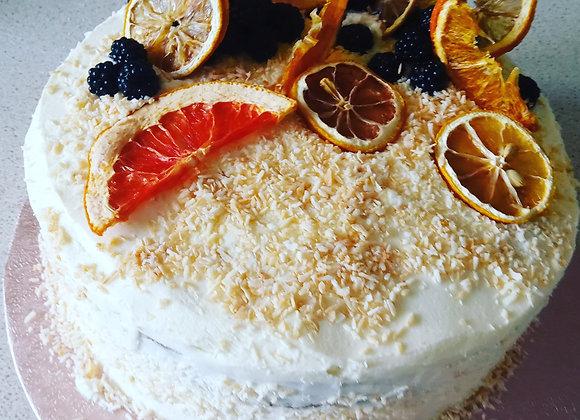 Coconut & Citrus Cake