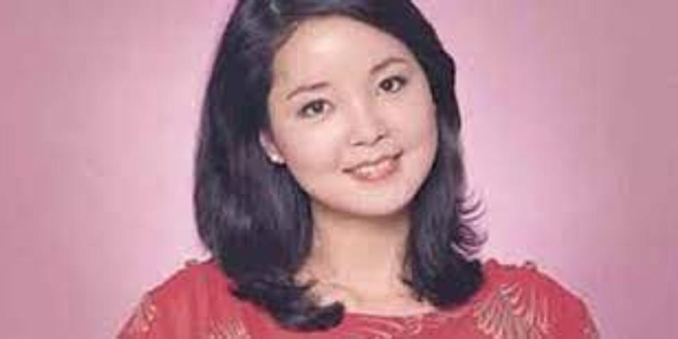 JICAA中国語歌の学習会 5月1日 テレサ・テンの 「甜蜜蜜 」