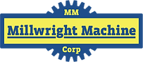 Millwright Machine Logo | Welding, Machining and Custom Fabrication