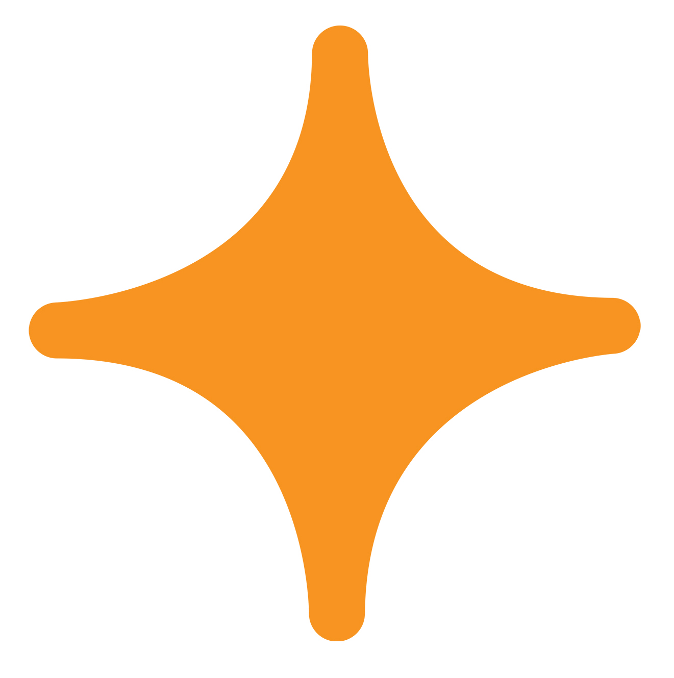 Orange Star Decal