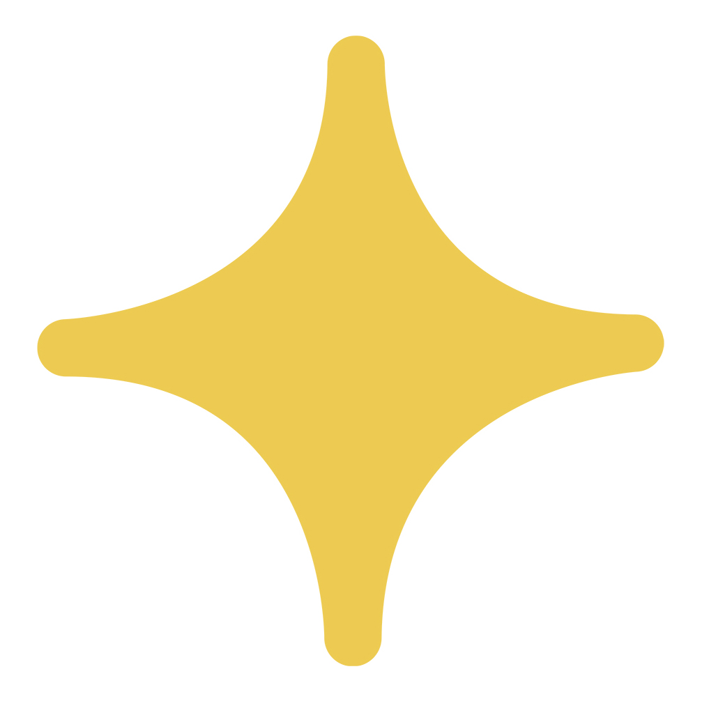 Yellow Star Decal