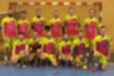 vercel handball equipe sénior masculine 2016 2017