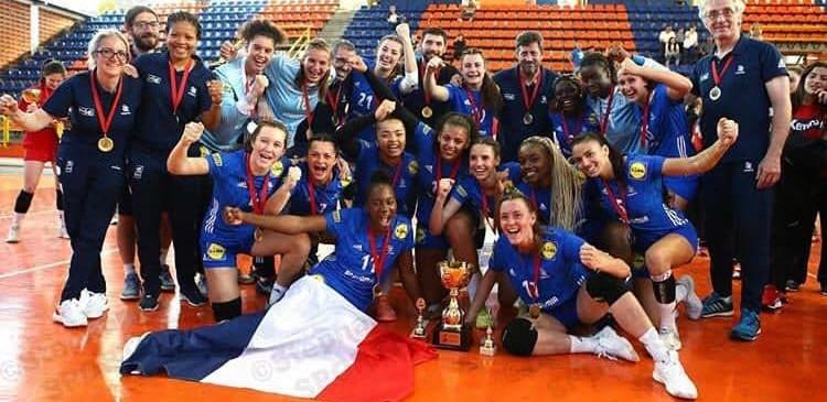 France U17 CHAMPIONNE des jeux méditerannéens.