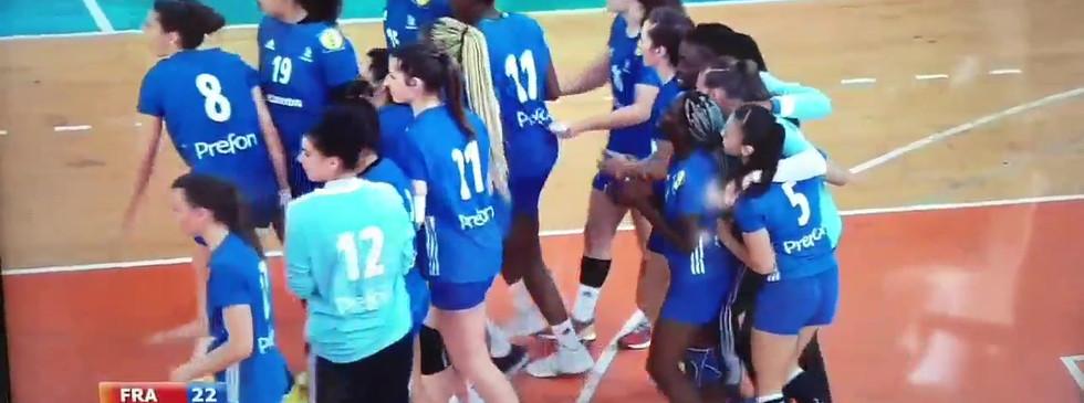 Victoire des françaises en finale
